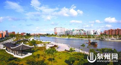 晋江城市风貌